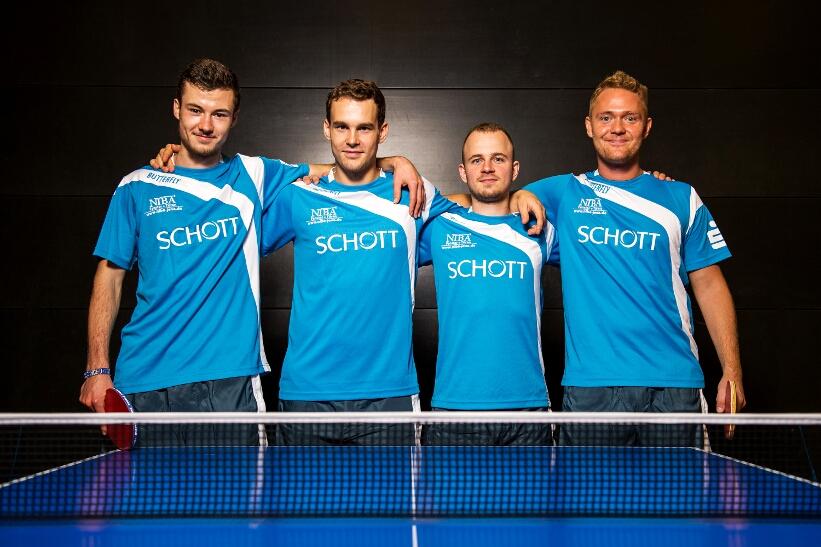 Das Bundesliga-Quartett des SV SCHOTT genießt im Pokal am 26.08. Heimrecht!