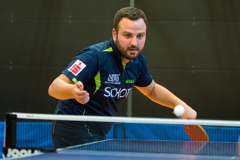 Marko Petkov führt das Team in Ansbach an!