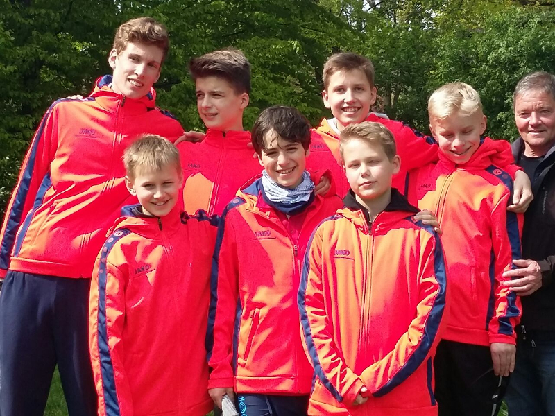 Das Team des Carl-Zeiss-Gymnasiums Jena!