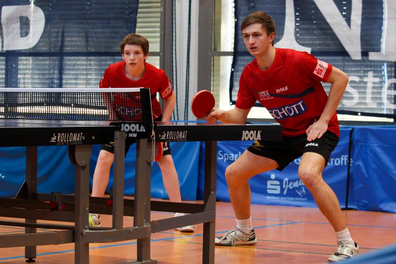 Nico Meierhof und Philip Schädlich waren im Doppel doppelt erfolgreich!