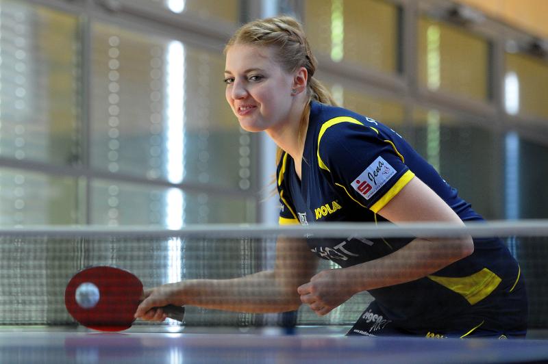 Kathi Overhoff wusste sich nach Blackout im ersten Spiel zu steigern!