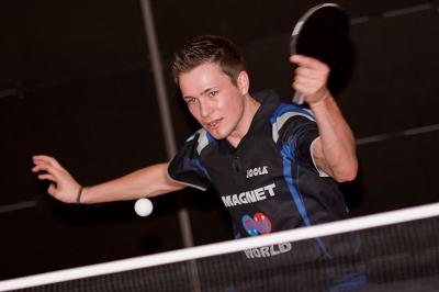 Spitzenspieler des SV SCHOTT Jena: Chris Albrecht (Foto: Simon Stützer)