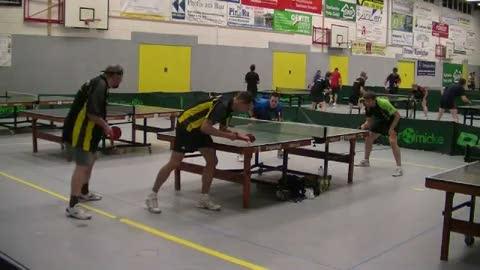 Sparkassencup, Viertelfinale Herren A Doppel, C. Albrecht/Merrbach - Nack/Pritzke