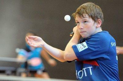 Nachwuchshoffnung Nico Meierhof gewann drei Einzel!