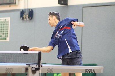 Walery Samrin gewann beide Einzel und setzte den Schlusspunkt!