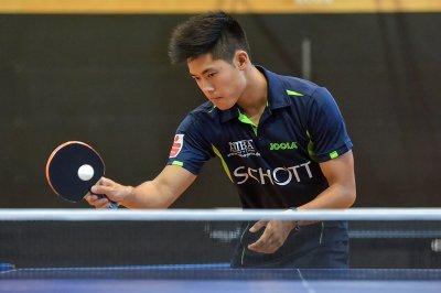 Neuzugang Alex Chen gewann als Einziger Jenaer beide Einzel!