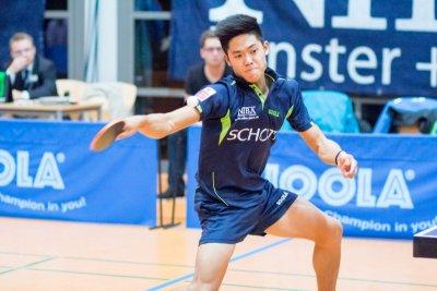 Alex Chen war mit 2 Einzel- und einem Doppelsieg erfolgreichster Jenaer!