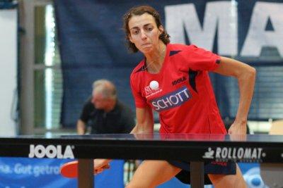 Anna Baklanova schraubte ihre Einzelbilanz auf 10:4!
