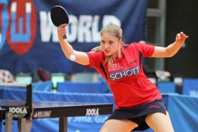Kathi Overhoff gewann beide Einzel!