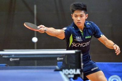Alex Chen gewann drei Einzel am Wochenende!
