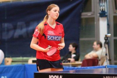 Kathi Overhoff sorgte für den ersten Rückrundenzähler!