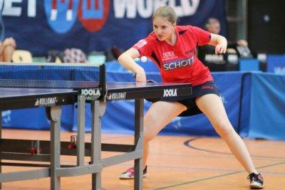 Katharina Overhoff schraubte ihre Rückrundenbilanz auf 5:1!