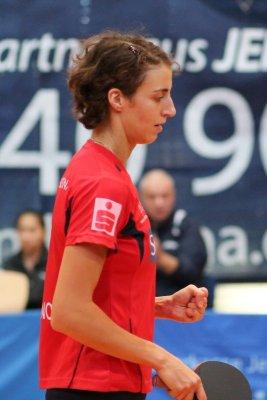 Nur Anna Baklanova konnte ihr Potenzial voll abrufen!