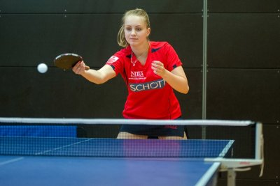Sophie Schädlich gewann 2 Doppel und 2 Einzel!