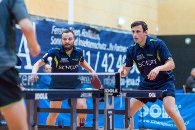 Nico Stehle und Marko Petkov sind auch im Doppel wieder gefordert!