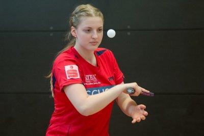 Kati Overhoff war im Doppel doppelt erfolgreich!