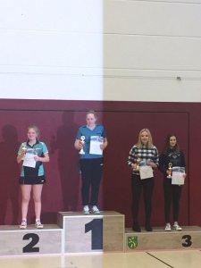 Margarita Tischenko siegte bei den Mädchen!