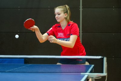 Nervenstark: Sophie Schädlich gewann 3 Einzel im 5. Satz!