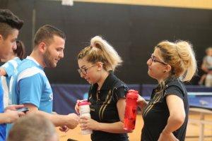 Coach Hasan Bradei konnte die Schwestern Al khatib nicht vor der Niederlage bewahren!