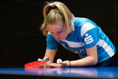 Katharina Bondarenko-Getz schlägt am Wochenende in Rinteln auf!