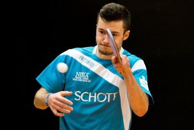Leonard Süß gewann gegen Julian Diemer sein zweites Einzel!