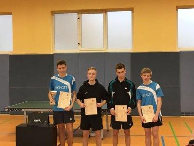 Alex Mrowka (l.) gewann bei der Jugend, Paul Bode (r.) wurde 3.!
