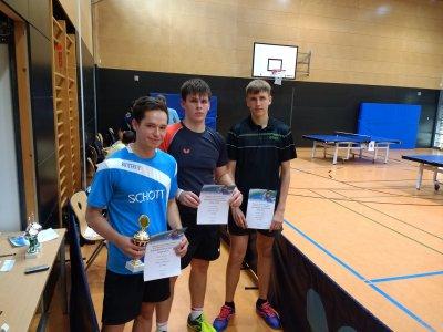 Simon Schreyer, Lukas Lautsch und Alexander Mrowka belegten die Plätze 1-3 bei den KEM!