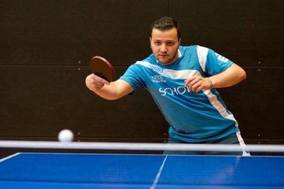 Hasan Bradei siegte im mittleren Paarkreuz sicher!