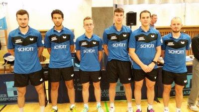 Das neue Team des SV SCHOTT!