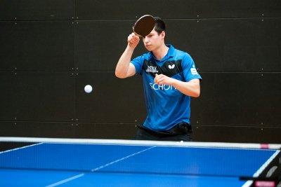 Simon Schreyer gewann 3 Doppel und 2 Einzel