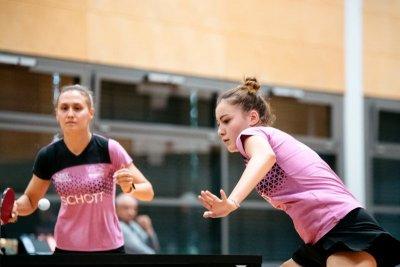 Ece Harac (r.) und Anastassiya Lavrova sind gegen Uentrop gefordert!