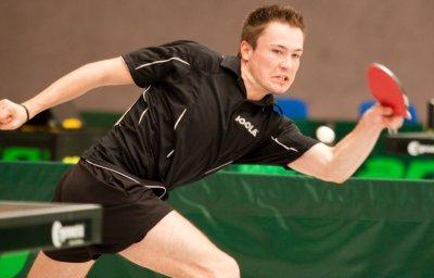 Chris Albrecht beim Thüringer Top 16 Sieg