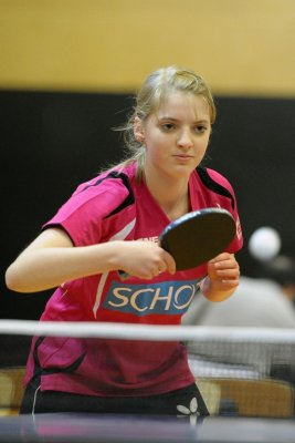 Katharina Overhoff erzielte in beiden Spielen den erlösenden 8. Zähler!